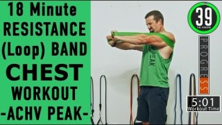 Resistance Band Chest Workout - Loop Band Chest Workout - ACHV PEAK