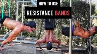Learn EVERY Calisthenics SKILL with Resistance BANDS | Planche, Front Lever and More...