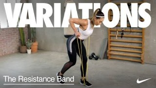 6 Moves to Do With a Resistance Band at Home with Flor Beckmann | Variations | Nike