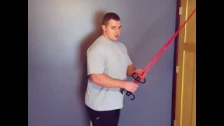 Resistance Band Tricep Extensions